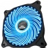 Ventilador Eagle Warrior 33 LED Azul, 120mm, 1200RPM, Negro