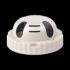 Epcom Micrófono Omnidireccional en Sensor de Humo, Alámbrico, 1000 Ohmios  1