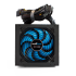 Fuente de Poder Game Factor PSG400 80 PLUS Bronze, 20+4 pin ATX, 120mm, 400W, Negro  4