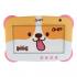"Tablet Ghia 7 KIDS 7"", 16GB, 1024 x 600 Pixeles, Android 9.0 Go Edition, Bluetooth 4.0, Café/Blanco  1"