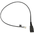 Jabra Cable para auriculares QD - RJ10, 50cm, Negro  1