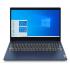 "Laptop Lenovo IdeaPad 3 15ADA05 15.6"" HD, AMD Ryzen 3 3250U 2.60GHz, 12GB, 1TB + 128GB SSD, Windows 10 Home 64-bit, Azul  2"