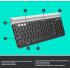 Teclado Logitech K780, Inalámbrico, Bluetooth, Negro (Español)  3