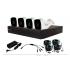 Meriva Technology Kit de Vigilancia de 4 Cámaras CCTV Bullet y 4 Canales, con Grabadora DVR  1