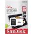 Memoria Flask SanDisk Ultra, 128GB MicroSDXC UHS-I MicroSDXC, con Adaptador ― ¡Compra y participa para ganar 1 Kit Back to School de SanDisk!  1