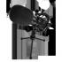 Game Factor Micrófono MCG600, Alámbrico, 1.35 Metros, Negro/Plata  3