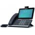 "Yealink Teléfono IP con Pantalla Tactil 7"" SIP-T58A, Altavoz, Negro, con Cámara  1"