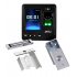 ZKTeco Control de Acceso y Asistencia Biométrico SF100, Pantalla 2.4'', 1500 Usuarios, USB, Negro — incluye Chapa Magnética, Soporte de Fijacion y Botón de Salida  1