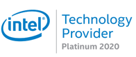 badge intel platinum 2020