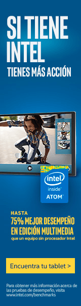 Lleva tu Tablet con Intel Inside