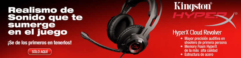 Audífonos HyperX Cloud Revolver de Kingston