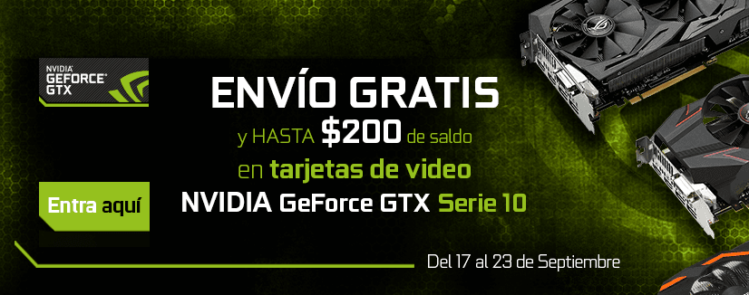 Promo NVIDIA Tarjetas de video